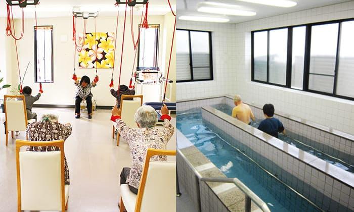 介護予防教室(元気塾)・プール写真